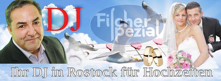 DJ Rostock buchen für Hochzeit, Geburtstagsfeiern und Silberhochzeiten in der Hansestadt