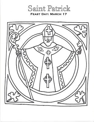 Such a cute (free) coloring page for littles.