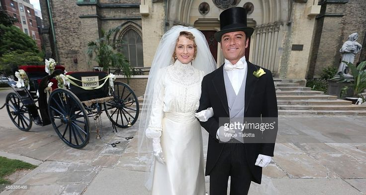 Wedding Of Inspector Murdoch On Murdoch Mysteries Television Show Pictures  | Getty Images
