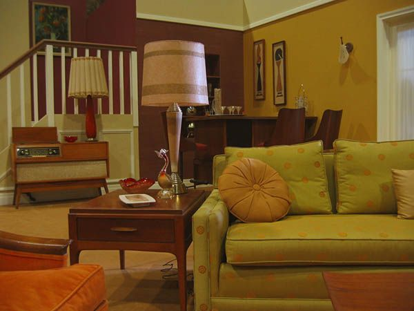 surprising 1960s sitcom living room | 1960s sitcom living room. | 1960s living room, Mid century ...