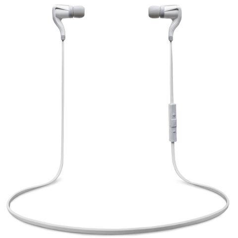 Plantronics BackBeat Go 2 Wireless Bluetooth In-Ear Headset White - Front View