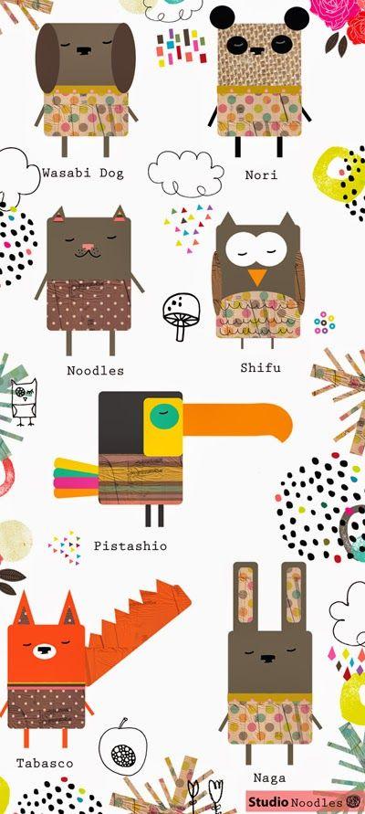 print & pattern: DESIGNER - studio noodles