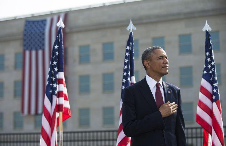 Barack Obama Photos: US Politicians Attend Pentagon 9/11 Memorial Service