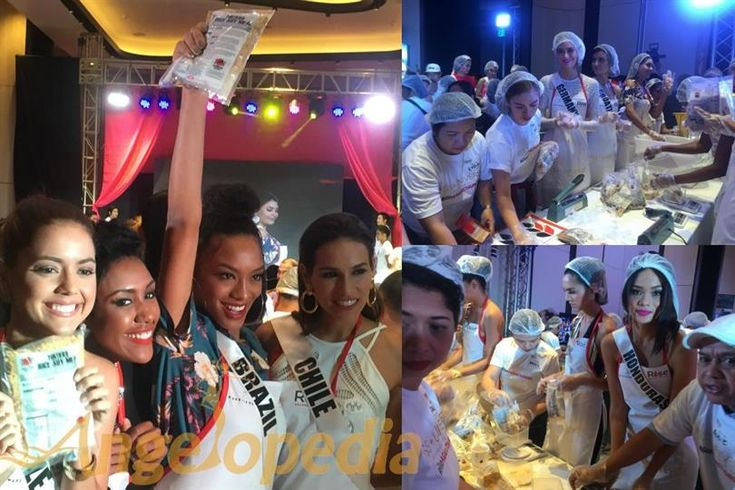 Miss Universe 2016 contestants Rise Against Hunger