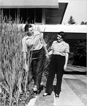 Ayn Rand with Frank O'Connor