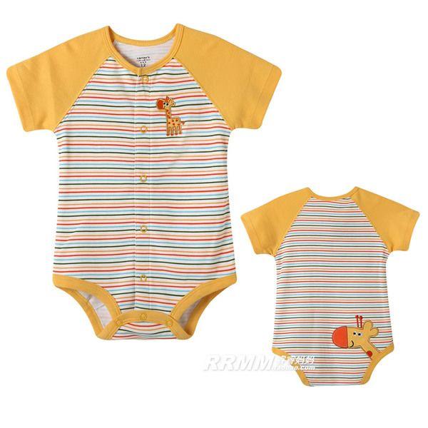 Дисконтированные 0-1 лет новорожденные комбинезоны летней с короткими рукавами одежды для мужчин и женщин ребенка летом треугольник Romper