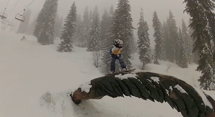 This French kid is only 10 years old and already a great snowboarder!Inspiration Stuff, 10 Years, French Kids