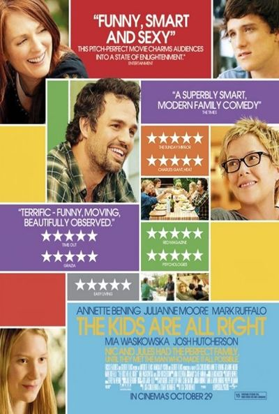 «The Kids Are All Right» es un filme maniqueo y propagandístico en el que, indirectamente, su directora, Lisa Cholodenko, demuestra que el fin no justifica los medios.
