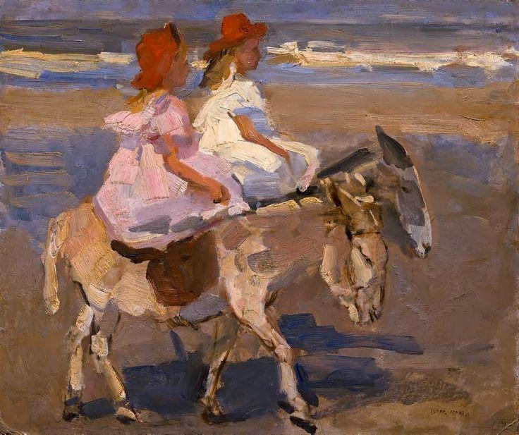 Isaac Israels ~ pintor impresionista holandés