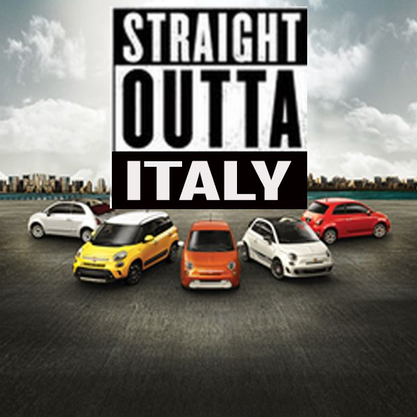 Italian Pride at it's finest. #Italian Heritage #StraightOuttaItaly http://www.mossyfiat.com/