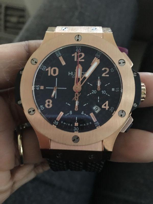 Hublot Big Bang Gold 301.PX.130.RX Wrist Watch for Men  f892fa5688