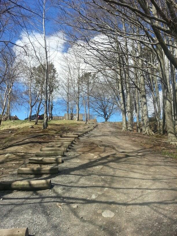 Snarvei opp til Trones i Sandnes