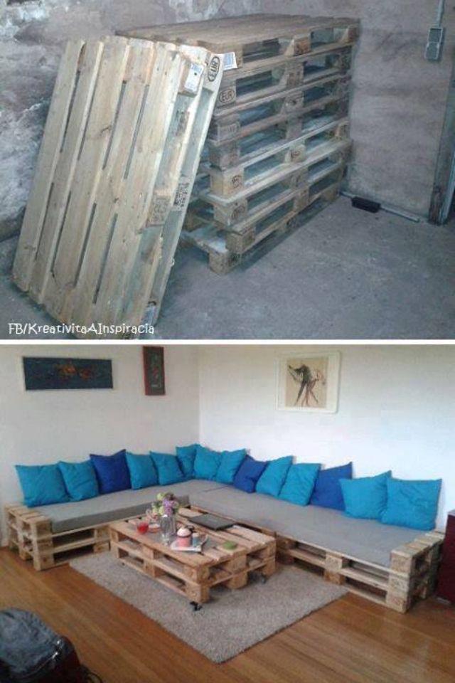 1000  bilder zu diy pallet couch ideas ♡ auf pinterest