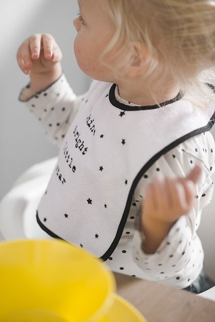 Bib 'Shine bright little star' by Jollein