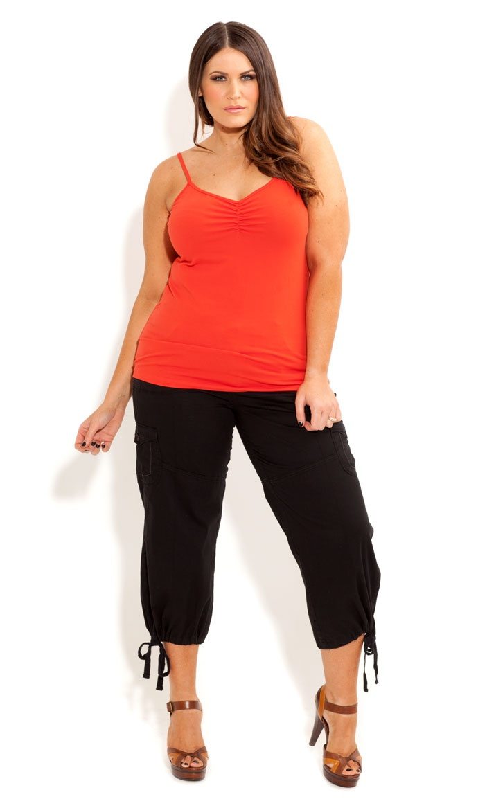 City Chic - ¾ CARGO PANT - Women's Plus Size Fashion