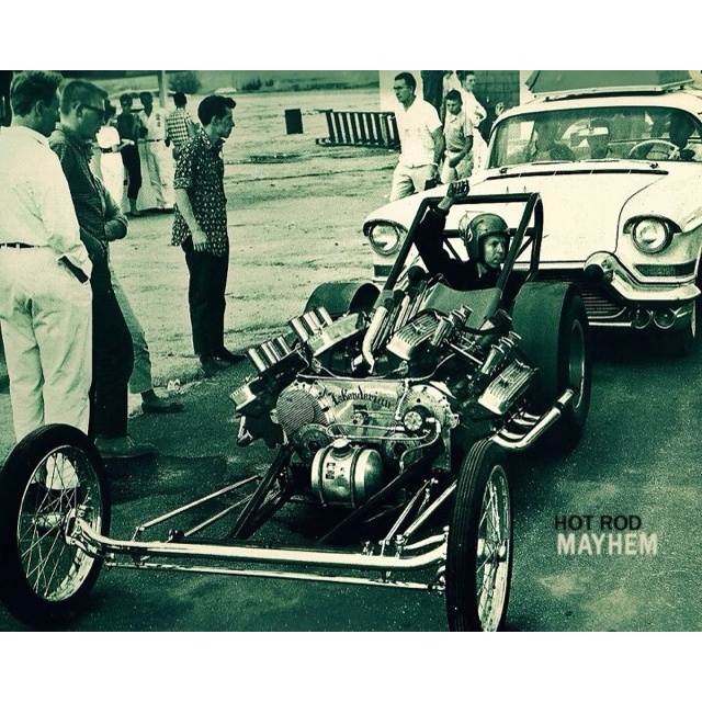 Buick V8 Engines: Tommy Ivo And His Twin Nailhead Dragster