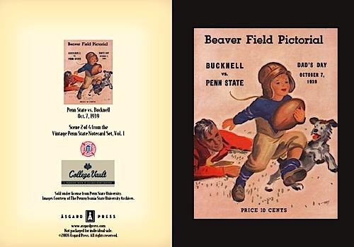 PSU vs Bucknell, 1939