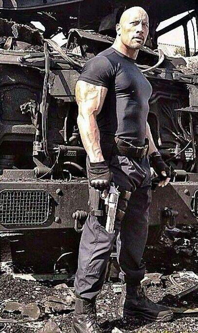 Dwayne Johnson (fast & Furious 7) | Actores | Pinterest | Dwayne johnson, Gorgeous men and Handsome