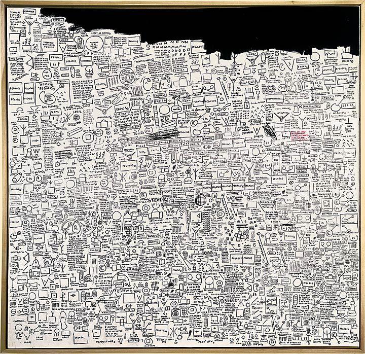 Jean Michel Basquiat - Pegasus, 1987 #art