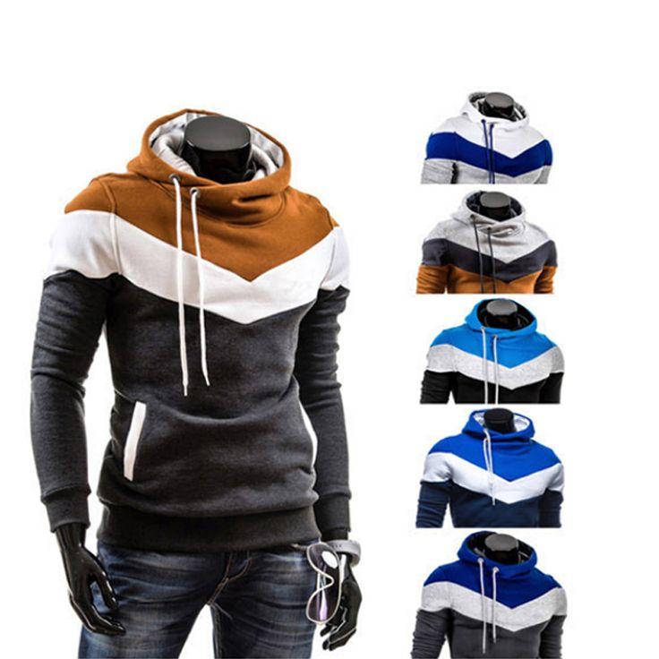 2016 New Winter Hoodies Men Sweatshirts. Slim Fit Hooded Pullover Sportswear Sweatshirt Male Tracksuits Moleton M-3XL 10 Colors
