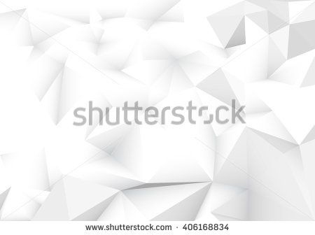 Light abstract geometric, low poly style vector illustration graphic background