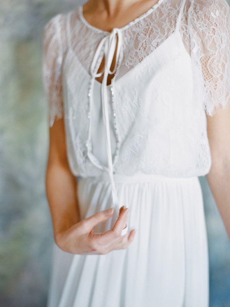 Кружевное свадебное платье Луна от Миламира