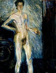 Richard Gerstl-Vienna Secession-Self Portraitt