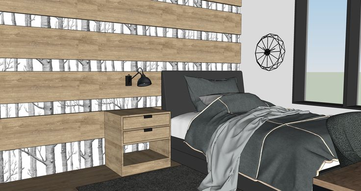 Luke's bedroom - should evolve with him as he grows up!