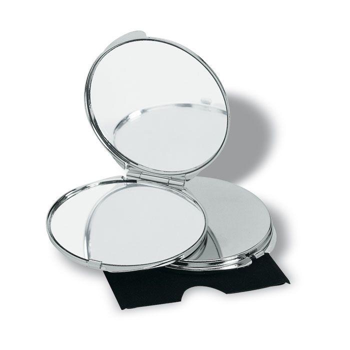 Lo specchio da borsetta è uno dei migliori alleati delle donne: discreto e dalle dimensioni ridotte, rappresenta l'amico ideale della bellezza fuori casa, un sostegno alla propria sicurezza estetica e alla propria voglia di essere sempre in ordine. E' uno dei gadget più apprezzati dalle donne, femminile e alla moda. http://www.gadgetpersonalizzabili.it/specchietti-borsa-personalizzati/