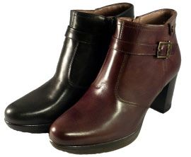 Made in Italy ankle cut boot with platform, by Nero Giardini