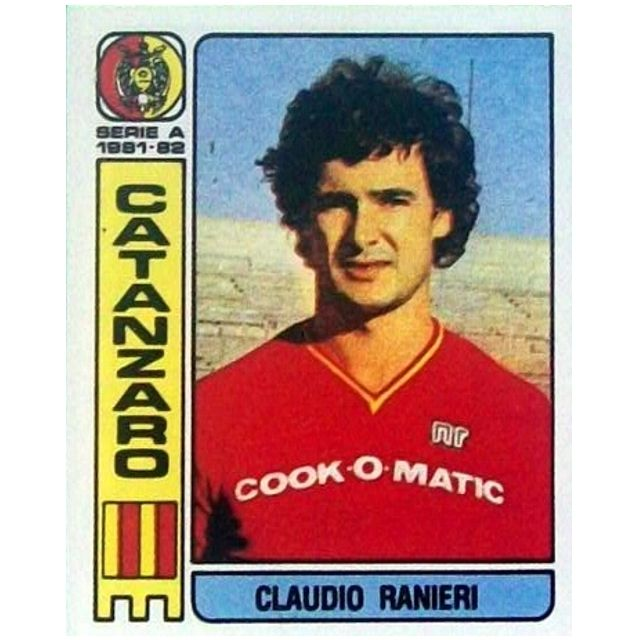 Claudio #Ranieri #Catanzaro 1981/82
