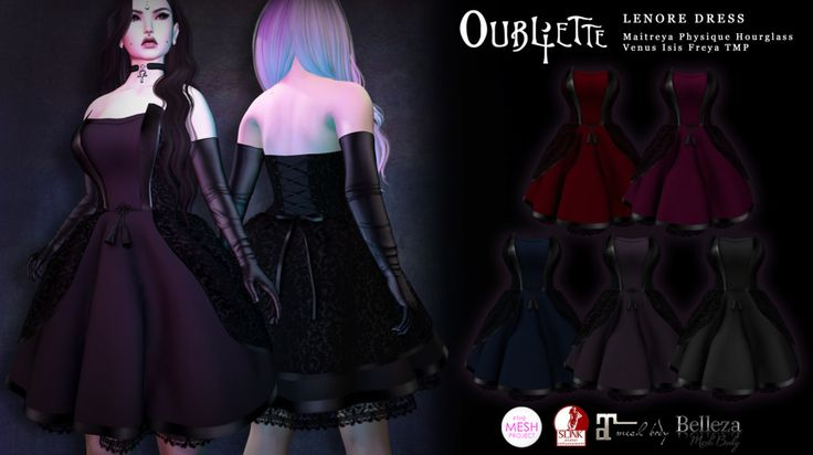 Oubliette- Lenore Cocktail Dress