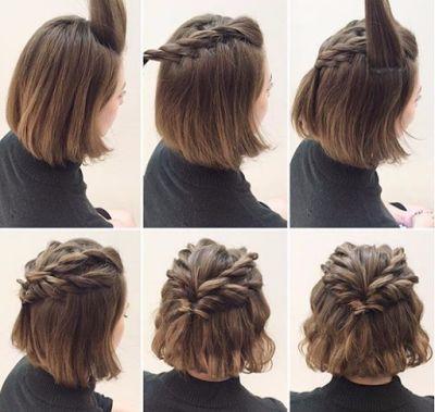 Peinados paso a paso para cabello corto y largo ~ Belleza y Peinados