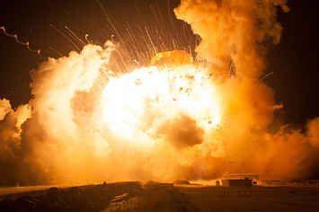 Incredible New Photos Show Moment NASA Rocket Exploded On Liftoff