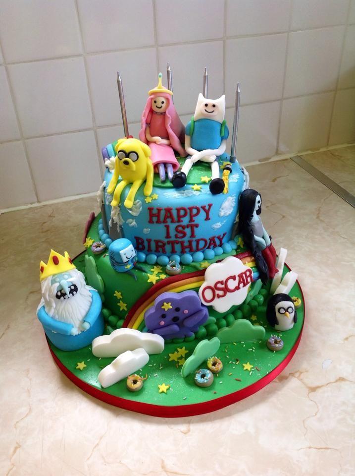 adventure time cake!