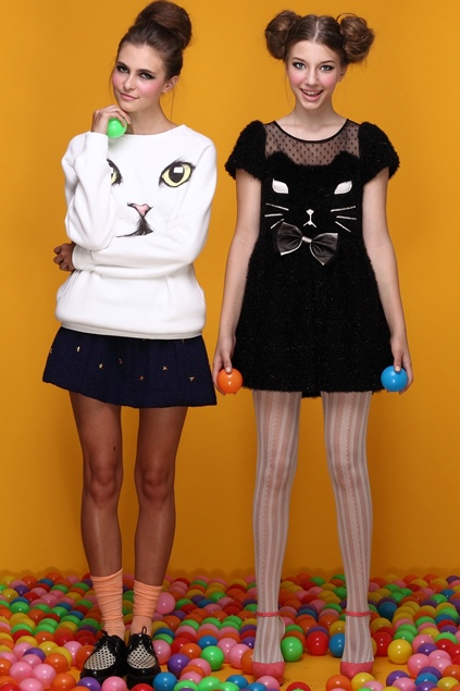Romwe cute cat inspired clothing