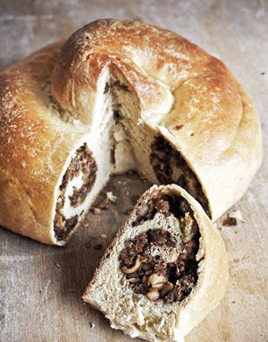Gubana Easter Bread of Friuli (check out the filling ingredient list, it's insane!)