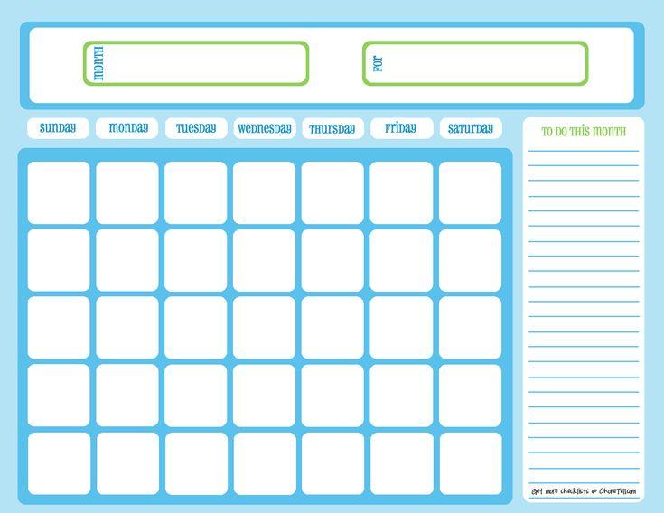 Sample Planning Calendar 4 Best Images Of Free Printable Student - sample workout calendar