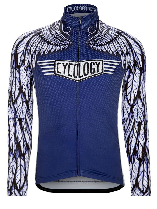 Free Flight men's long sleeve jersey from Cycology. #cycology