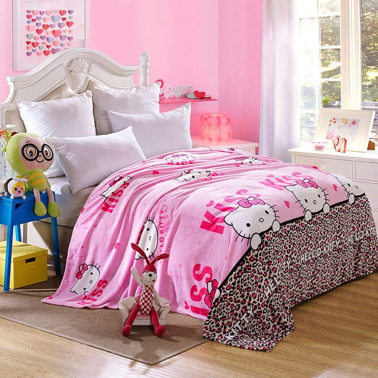 Hello Kitty Fleece Blanket //Price: $34.99 & FREE Shipping // World of Hello Kitty http://worldofhellokitty.com/kawaii-hello-kitty-blanket-cartoon-coral-fleece-blanket-throw-on-the-bed-sofa-travel-for-adultkids-twin-full-queen-king-size/    #toys