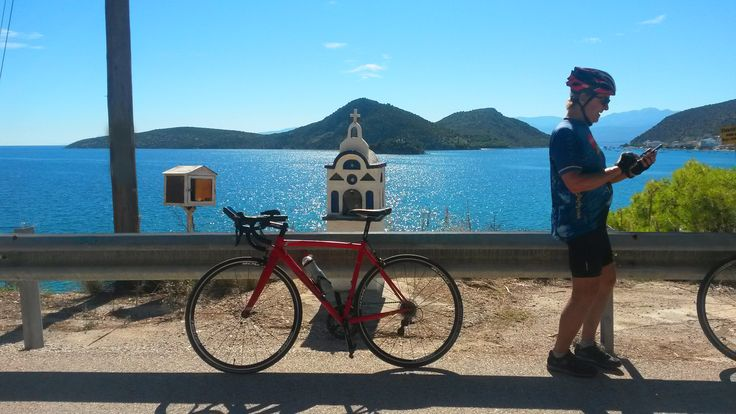An amazing day for a cycletour in coastal Messinia!