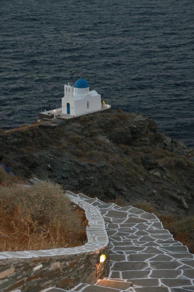 We ❤ Greece | Small chapel on Sifnos island #Greece #Cyclades #monasteries #travel #destination #explore