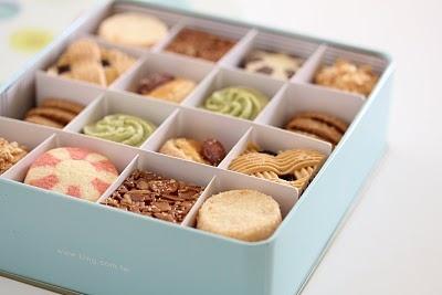 assorted butter cookies .... mmmm