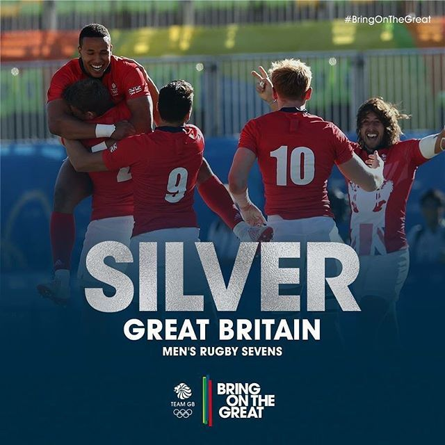 The hardest of finals against a magnificent Fiji display. But Olympic #Silver for #GBR's #Rugby7s Men. An incredible achievement. So proud of everyone on and behind the team. #BringOnTheGreat