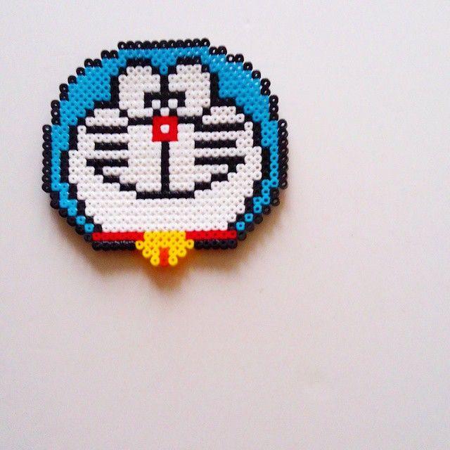 Doraemon perler beads by julyandjuly