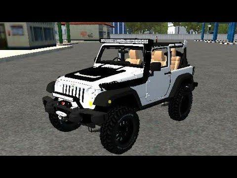 New Jeep Mod For Bus Simulator Indonesia Mod Jeep Driving Game Bussi Jeep Mods Jeep Driving Games