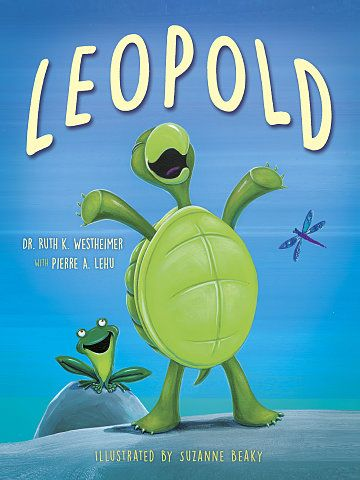 Leopold will get your kids out of their shells! In this charming, rhyming tale of a turtle too afraid to set foot in the river, Leopold proves that facing your fears can set you free.