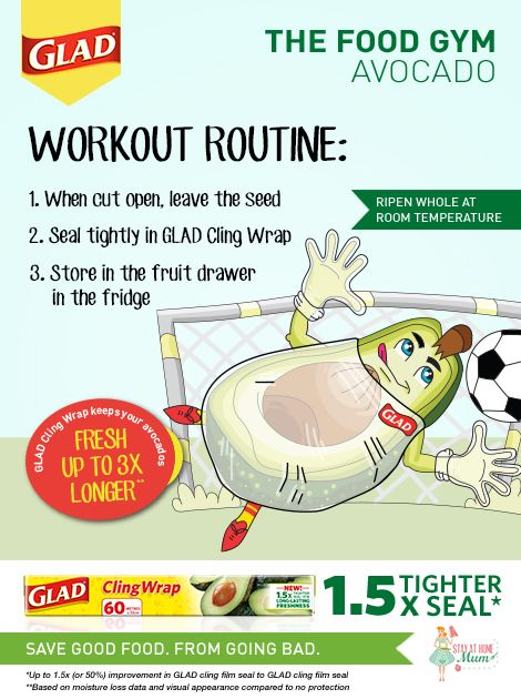 The Food Gym - How to Keep Avocados Fresh #FoodGym