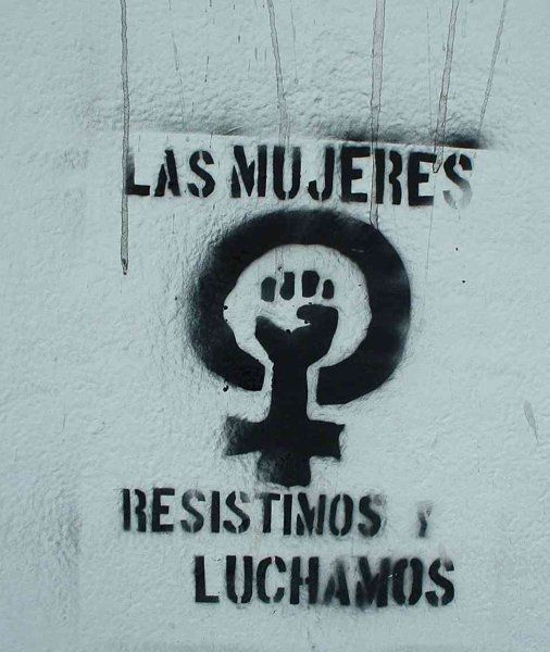 nos mulheres resistimos e lutamos