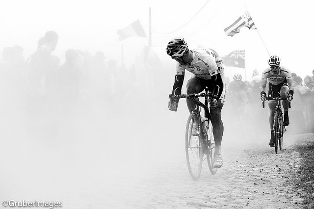 Svein Tuft - my pick from a fantastic Paris-Roubaix 2012 Flickr set from smashred. Go check out the whole set...